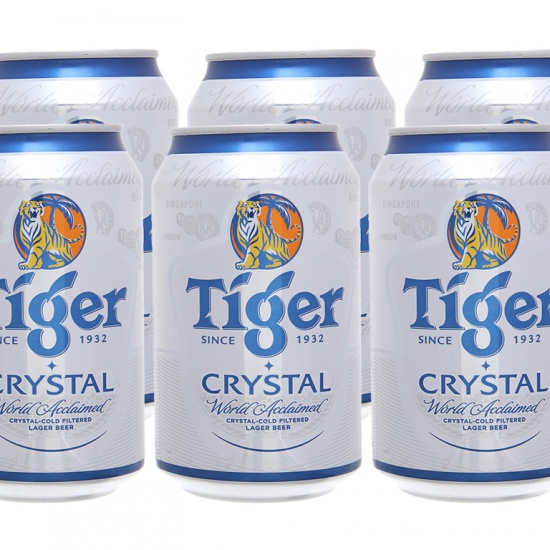 Tiger bạc (lon 330ml)