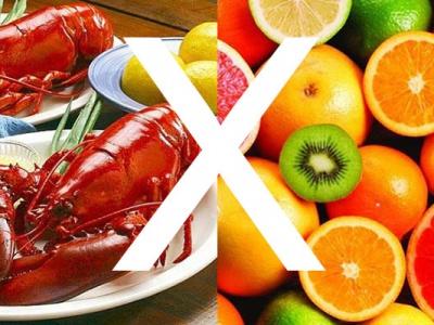 Những loại hoa quả cần tránh khi ăn hải sản để không ảnh hưởng sức khỏe
