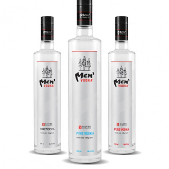 Vodka Sheriff nắp bạc
