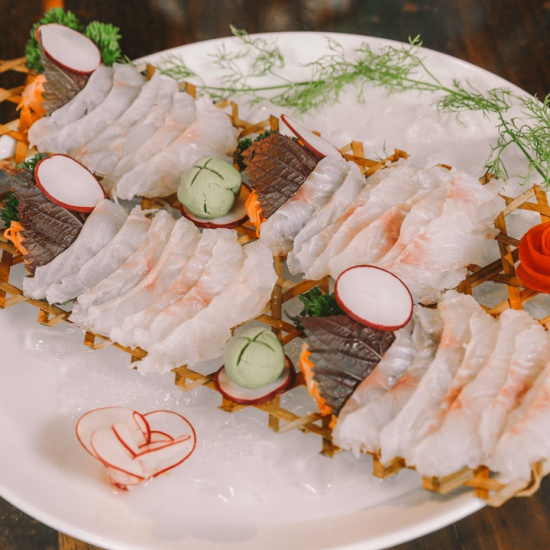 Sashimi cá Mú