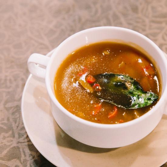 Soup tôm thái