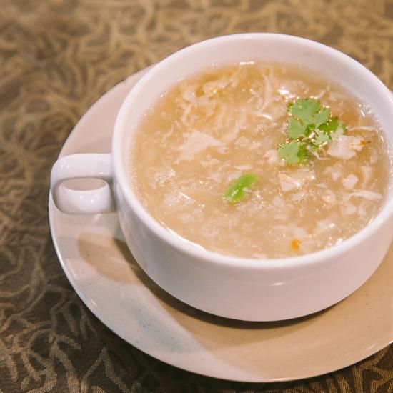 Soup cua ngô non