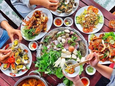Chi phí ăn hải sản tại nhà hàng ở Đà Nẵng