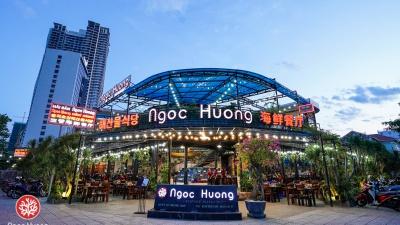 Toàn cảnh nhà hàng hải sản Ngọc Hương - nhà hàng hải sản ngon bậc nhất Đà Nẵng