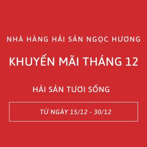 Hải sản Đà Nẵng tươi sống giá rẻ chỉ trong tháng 12