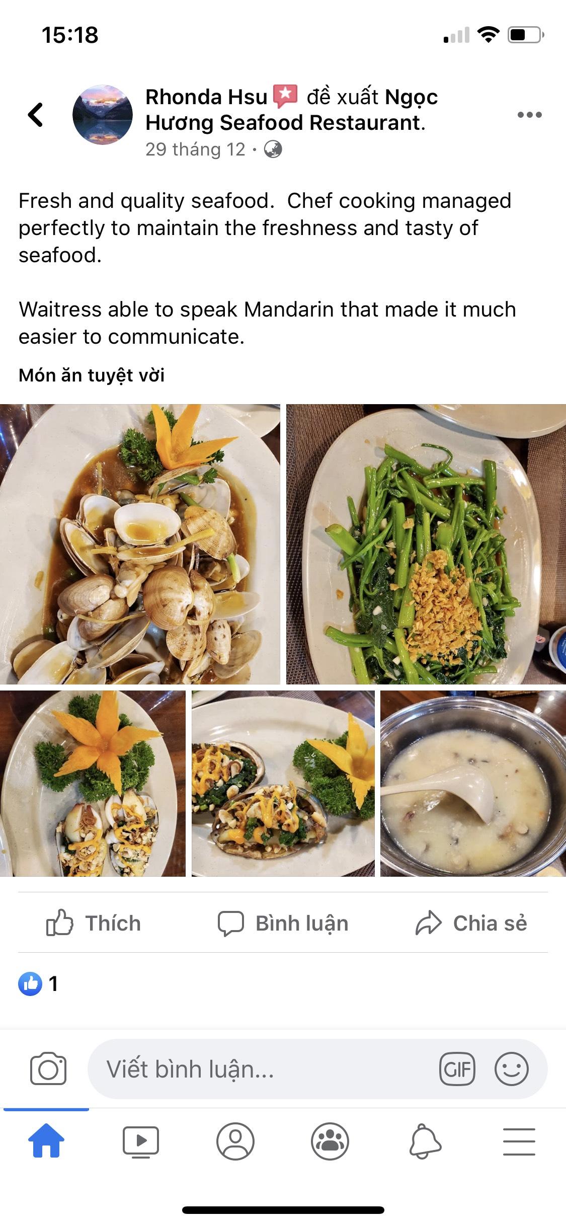 Review nhà hàng hải sản ngon Đà Nẵng