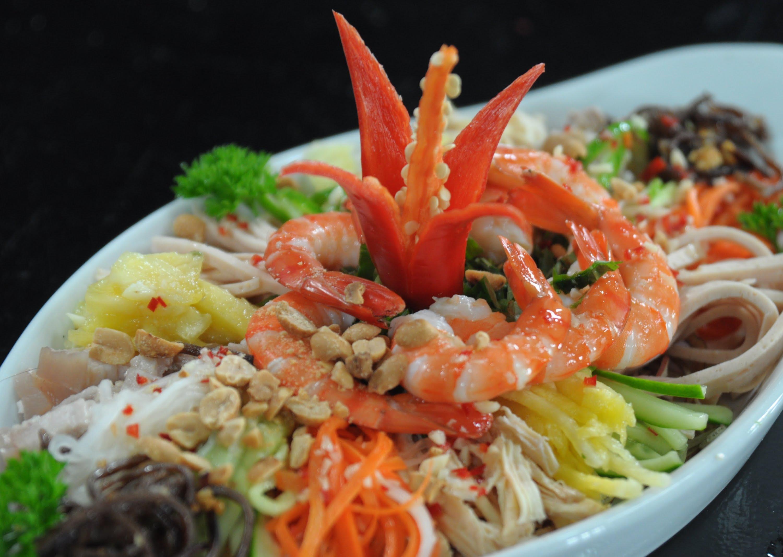 thực đơn nhà hàng hải sản Đà Nẵng