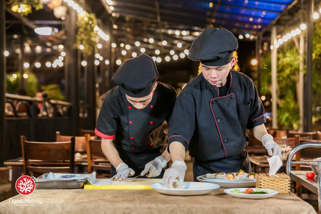 Chi phí ăn hải sản ở Đà Nẵng